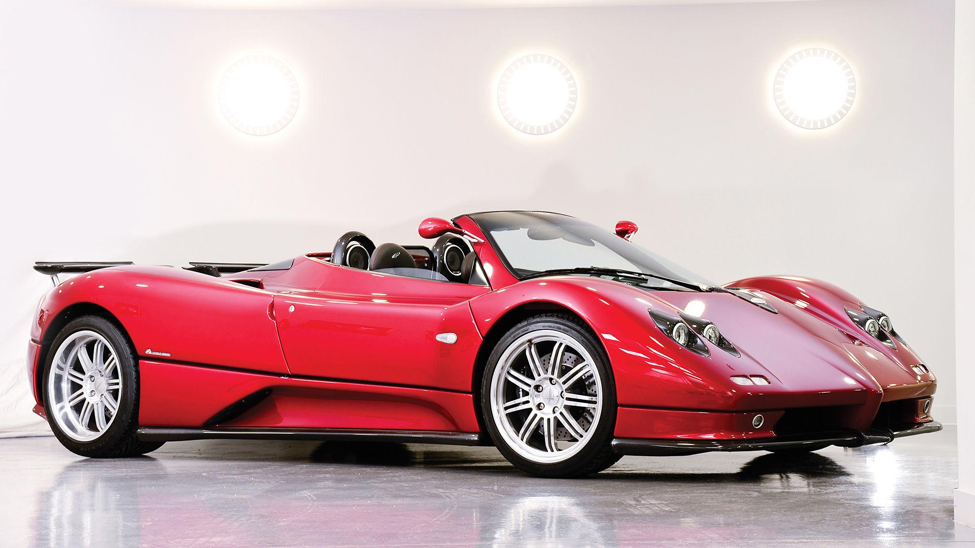 2003 Pagani Zonda Roadster