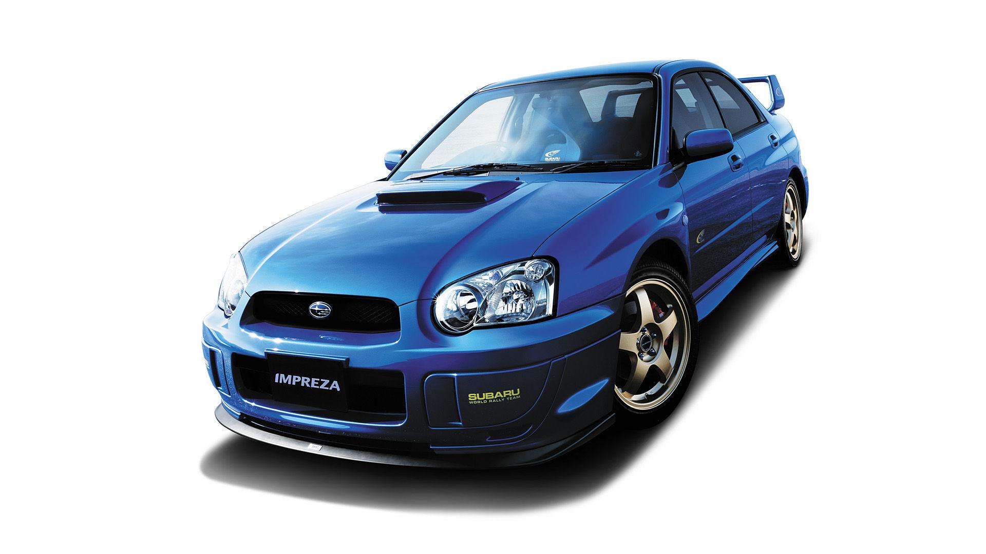 2004 Subaru Impreza WRX STI Spec C