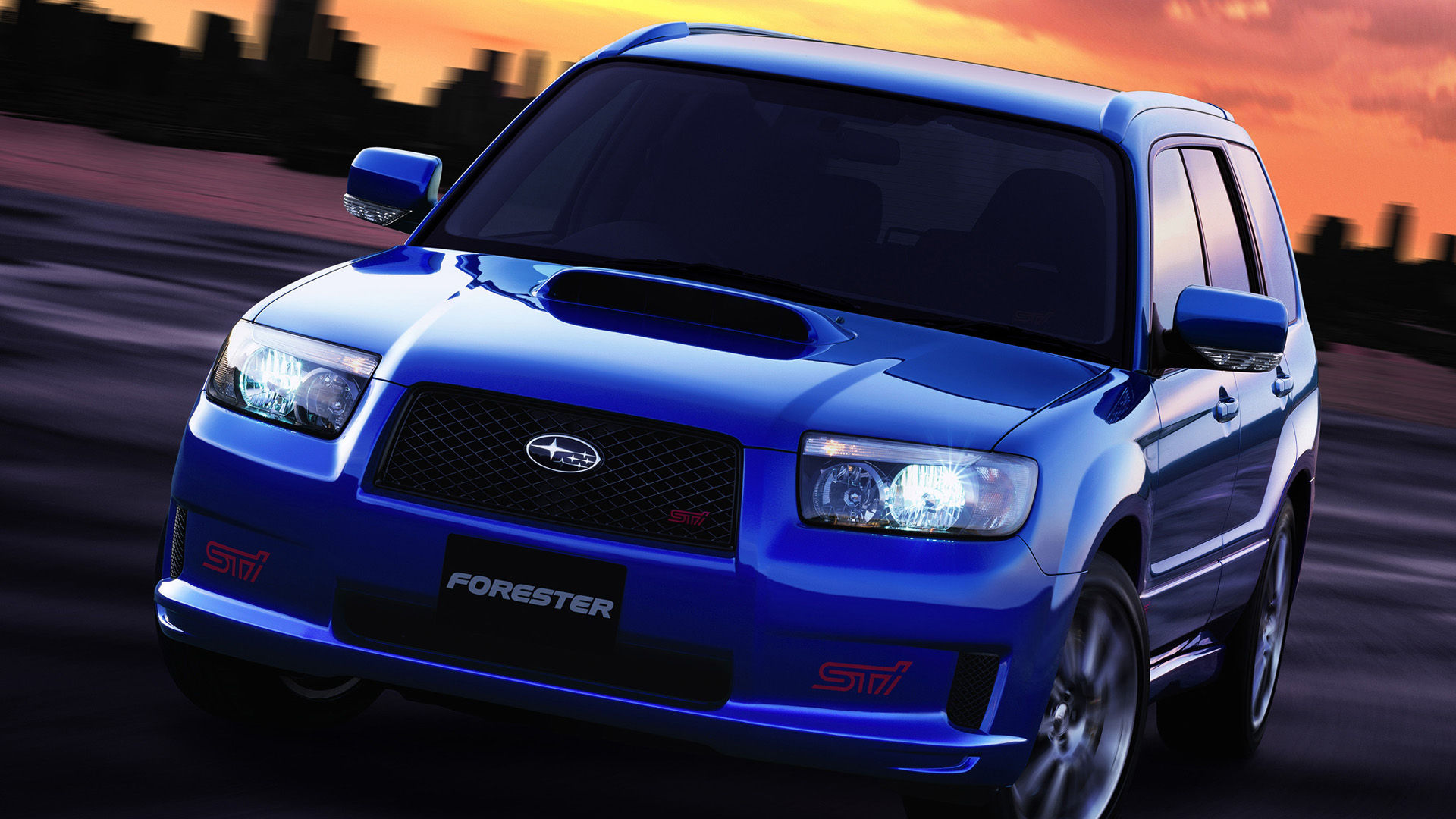 2005 Subaru Forester STI