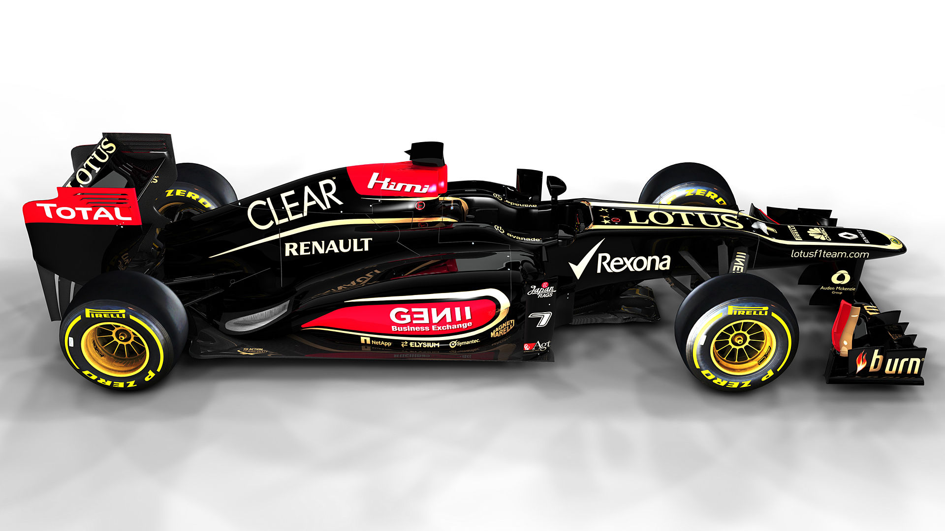 2013 Lotus Renault F1 E21