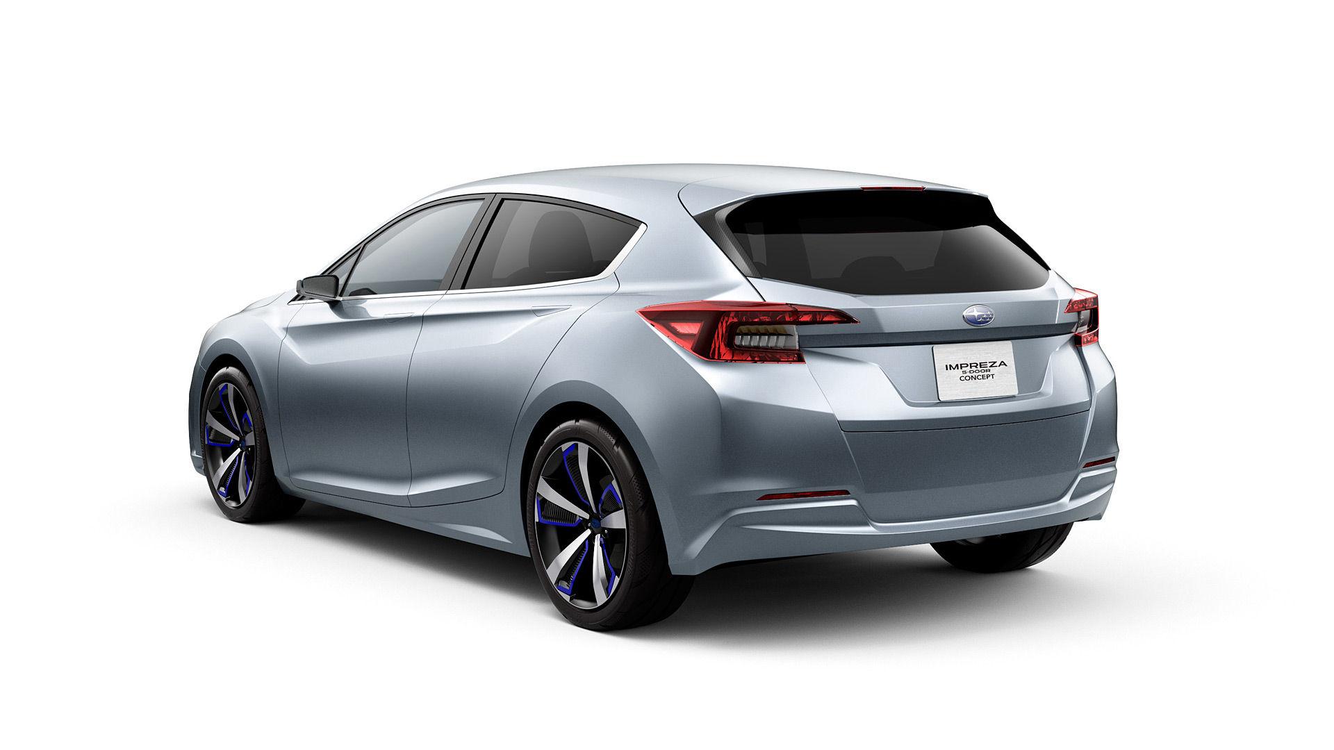 2015 Subaru Impreza 5-Door Concept