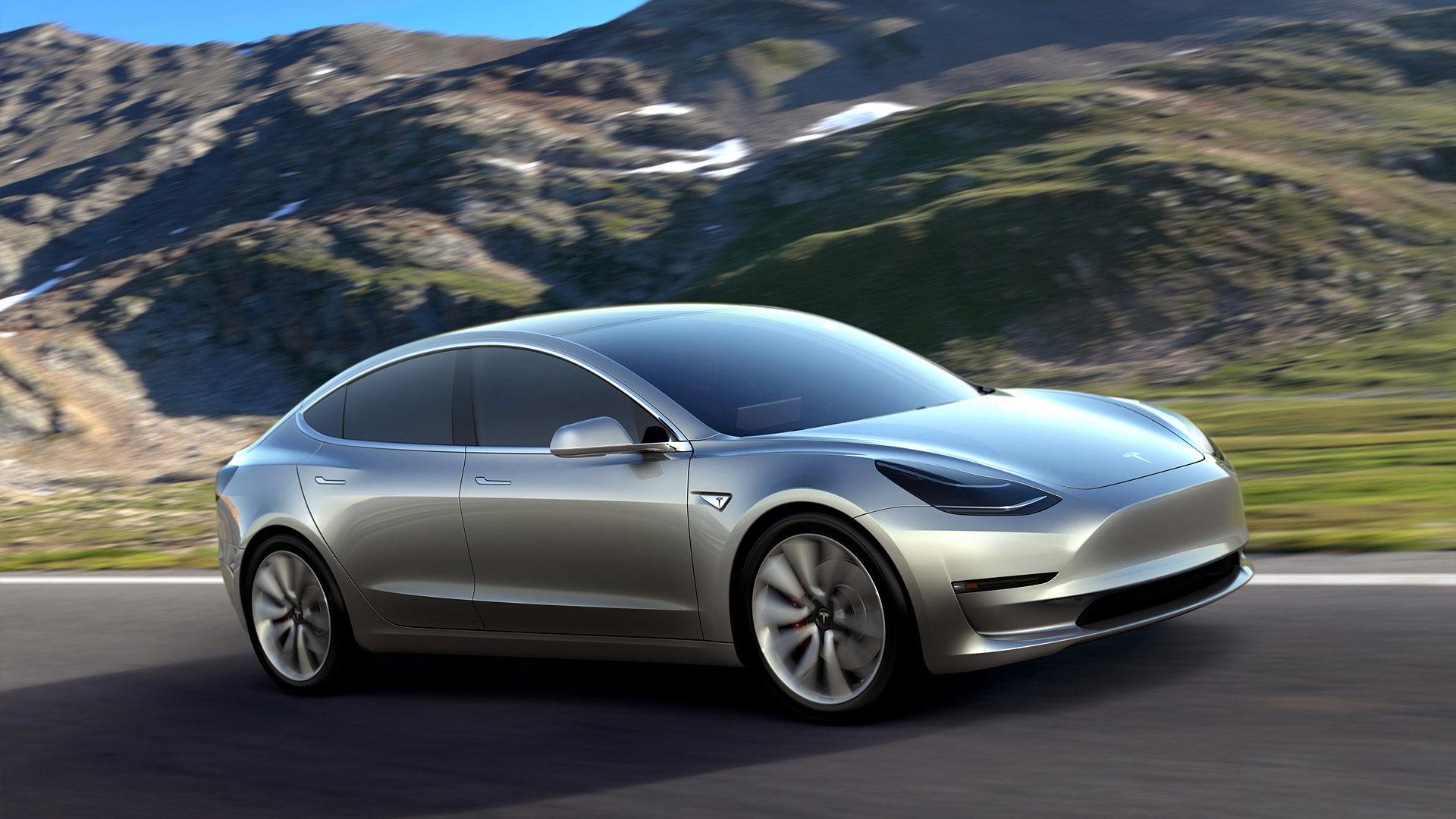 2016 Tesla Model 3 Prototype