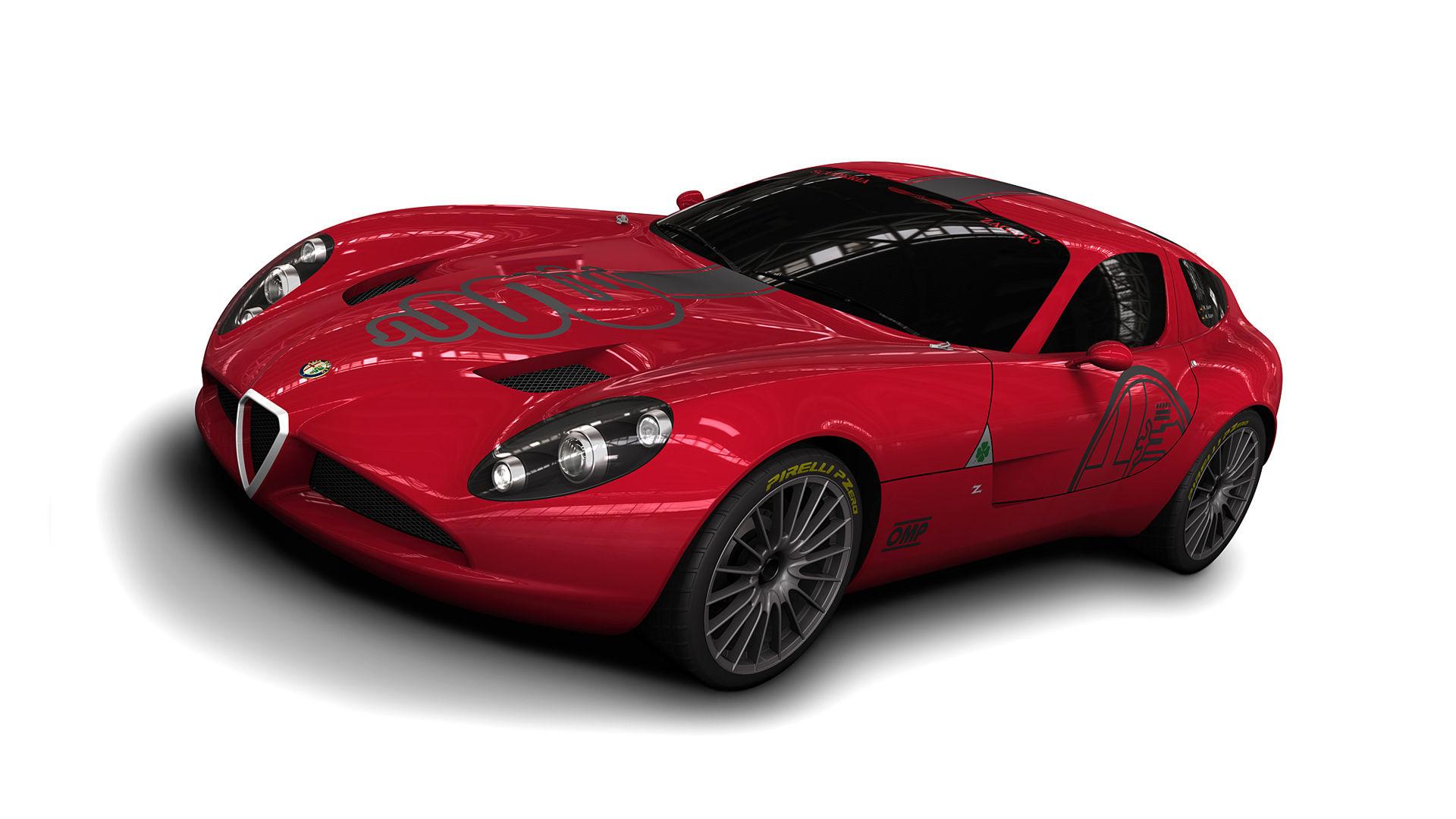 2010 Alfa Romeo TZ3 Zagato
