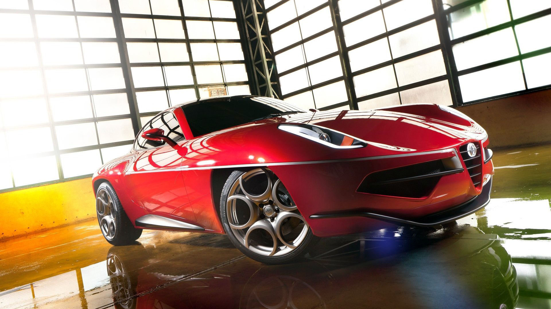 2012 Alfa Romeo Disco Volante Touring Specs Wallpaper