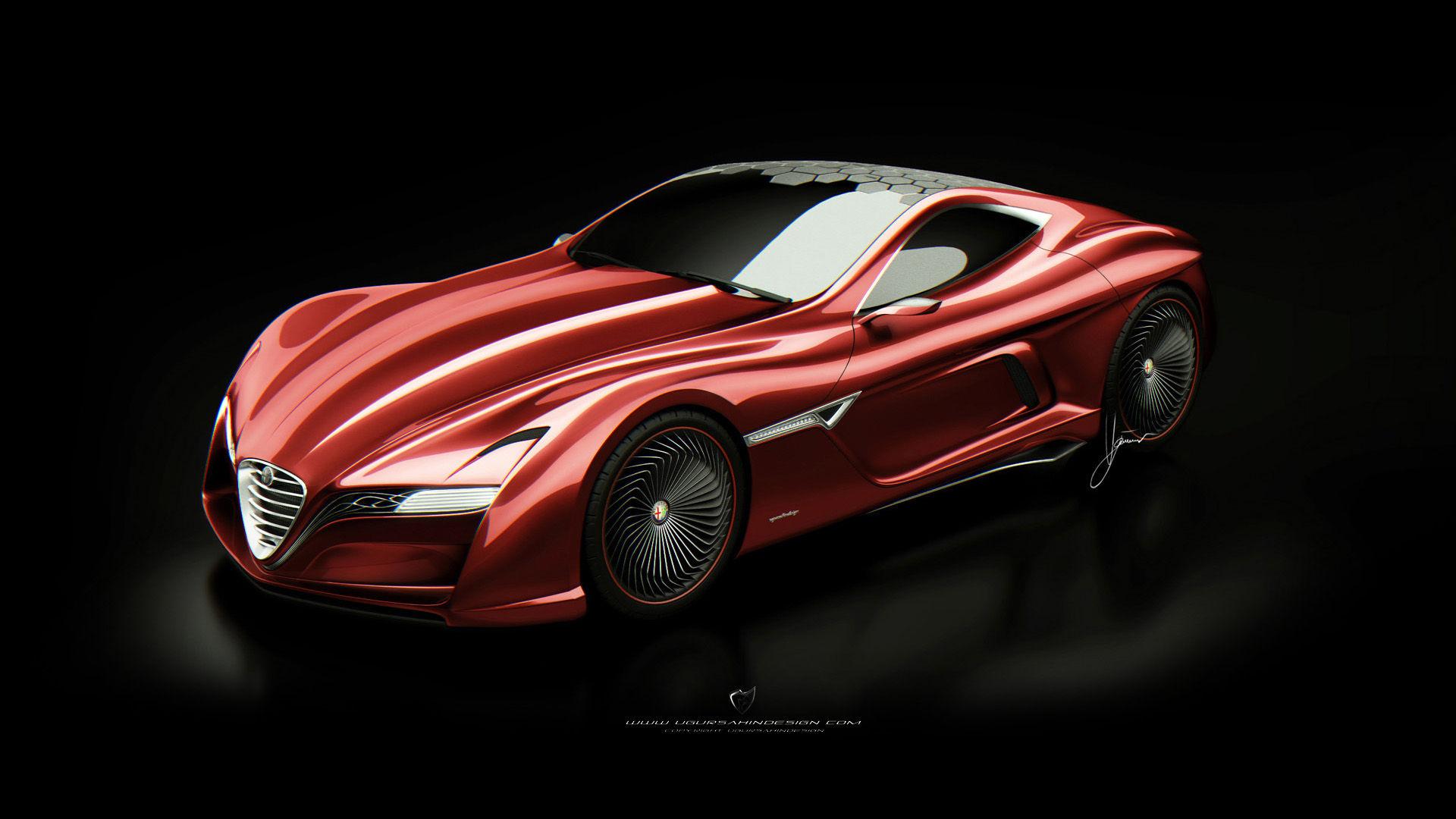 2012 Ugur Sahin Design Alfa Romeo 12C GTS
