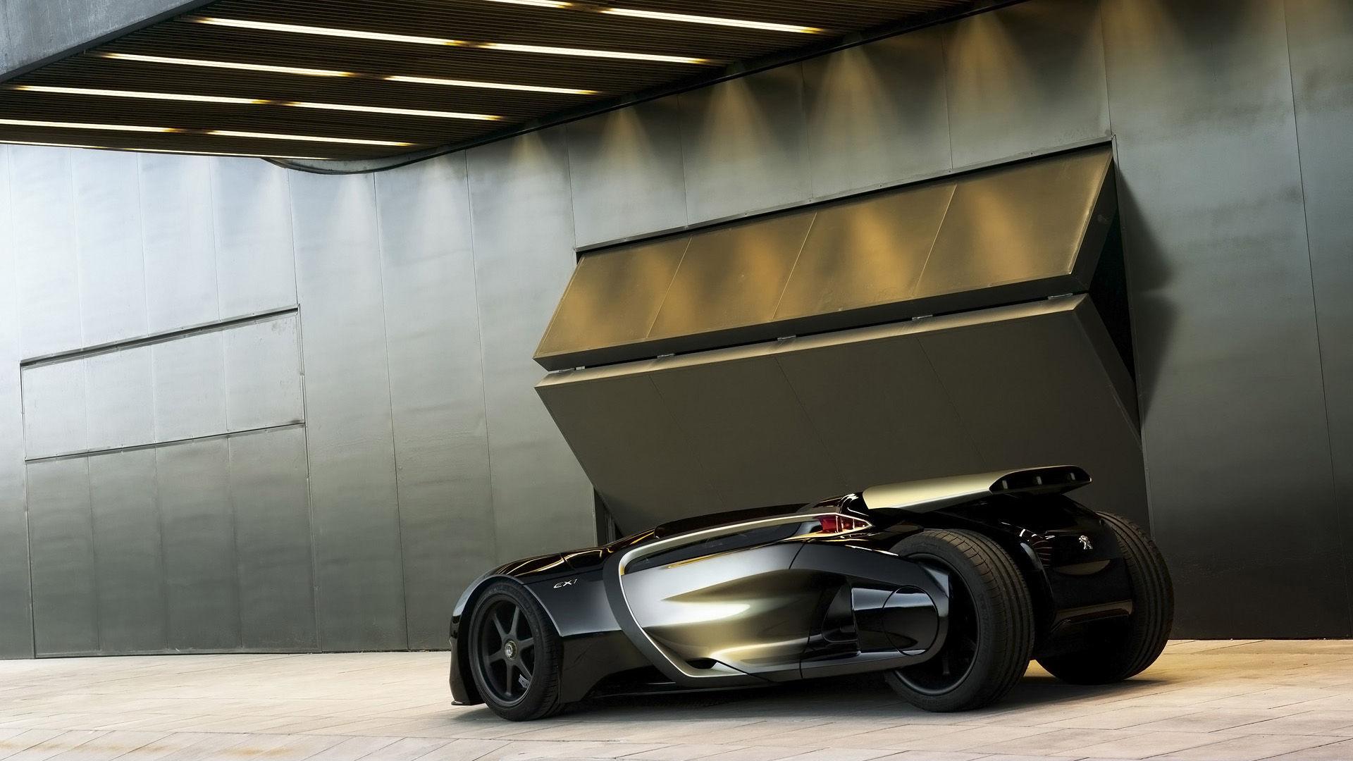 2010 Peugeot EX1 Concept