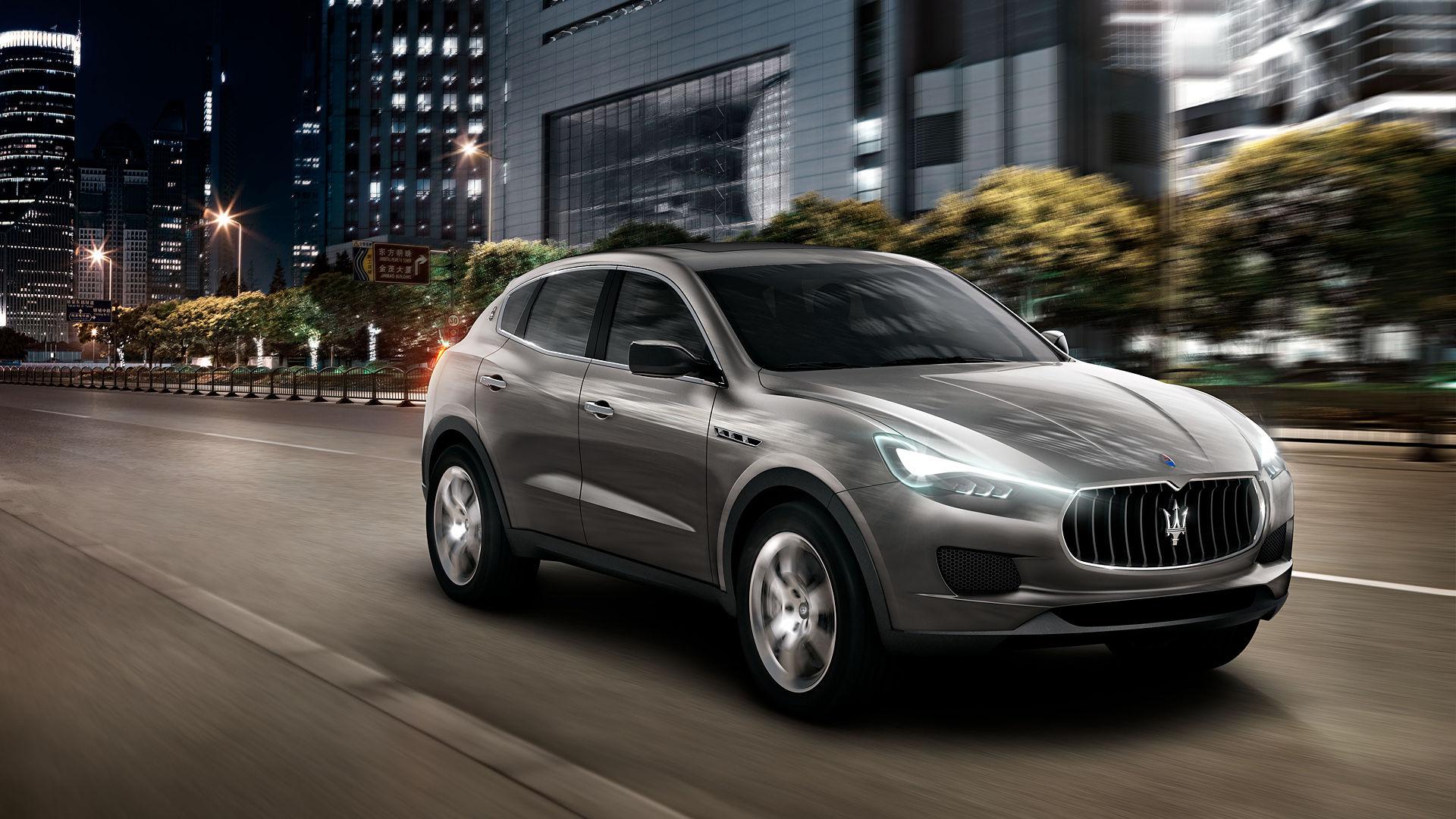 2011 Maserati Kubang Concept
