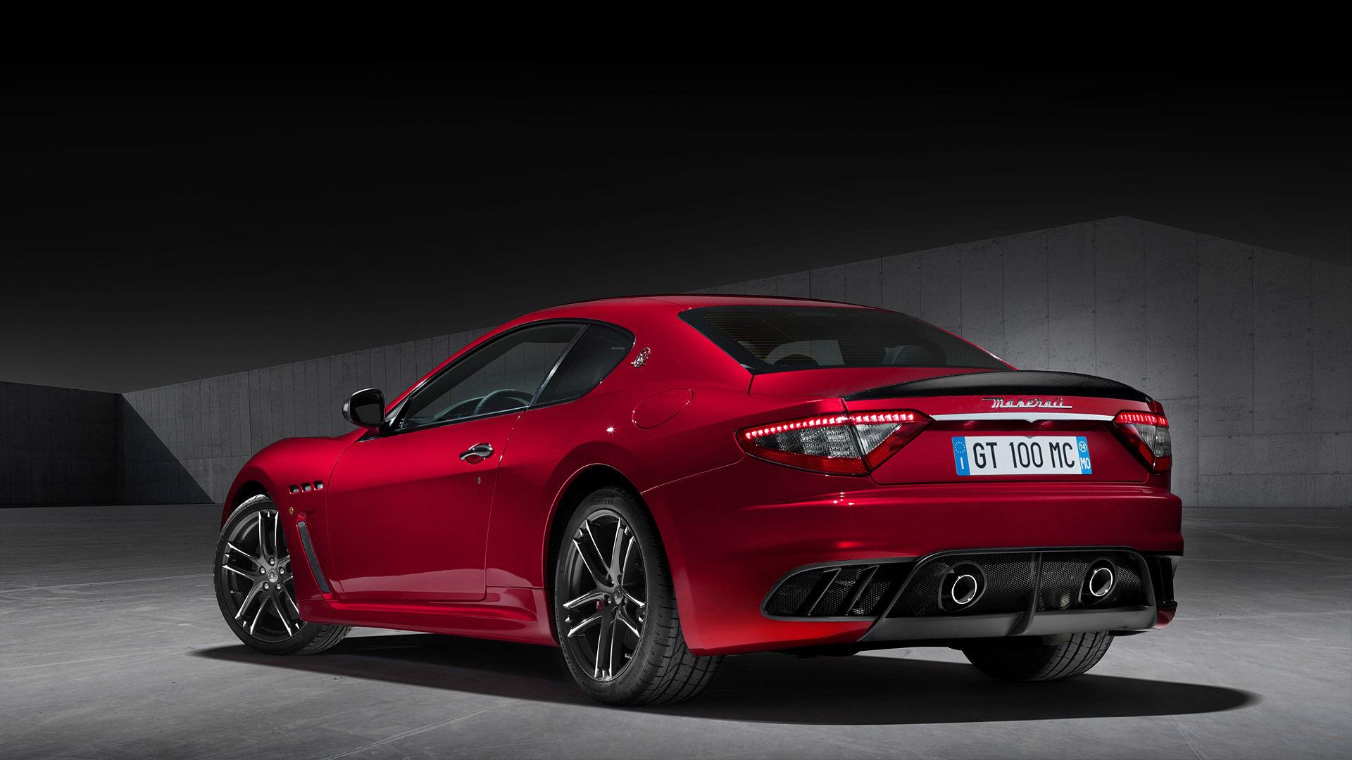 2015 Maserati GranTurismo MC Stradale Centennial Edition