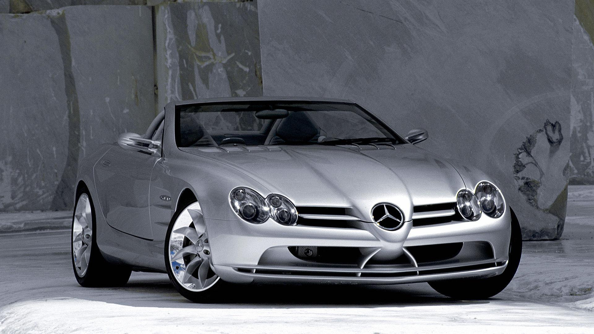 1999 Mercedes Vision SLR Roadster Concept