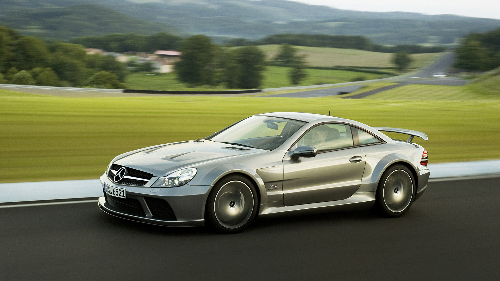 2009 Mercedes-Benz SL 65 AMG Black
