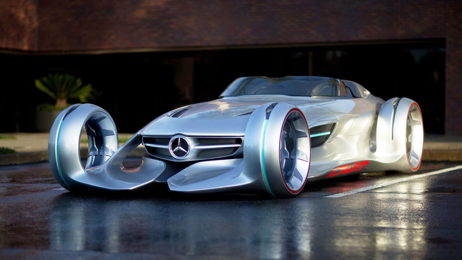 2012 Mercedes-Benz Silver Arrow Concept