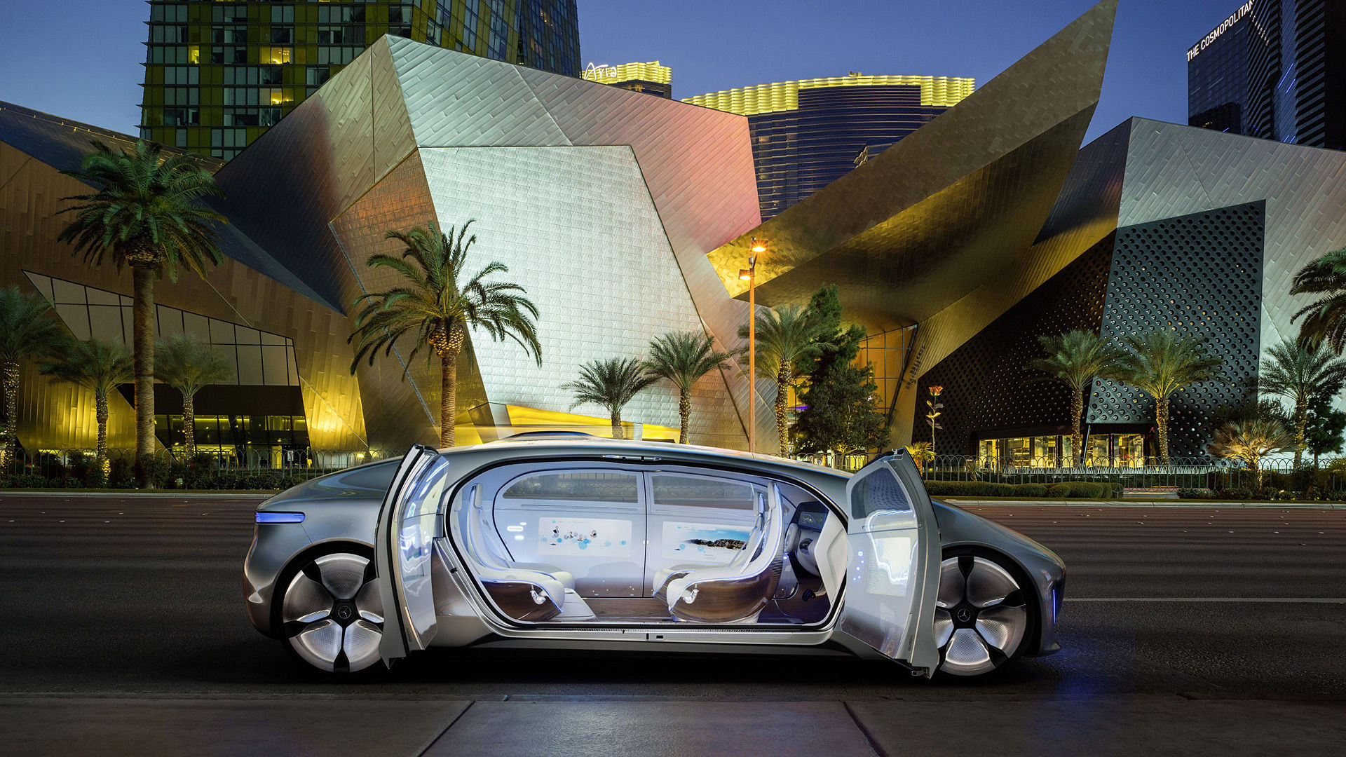 2015 Mercedes-Benz F015 Luxury In Motion Concept