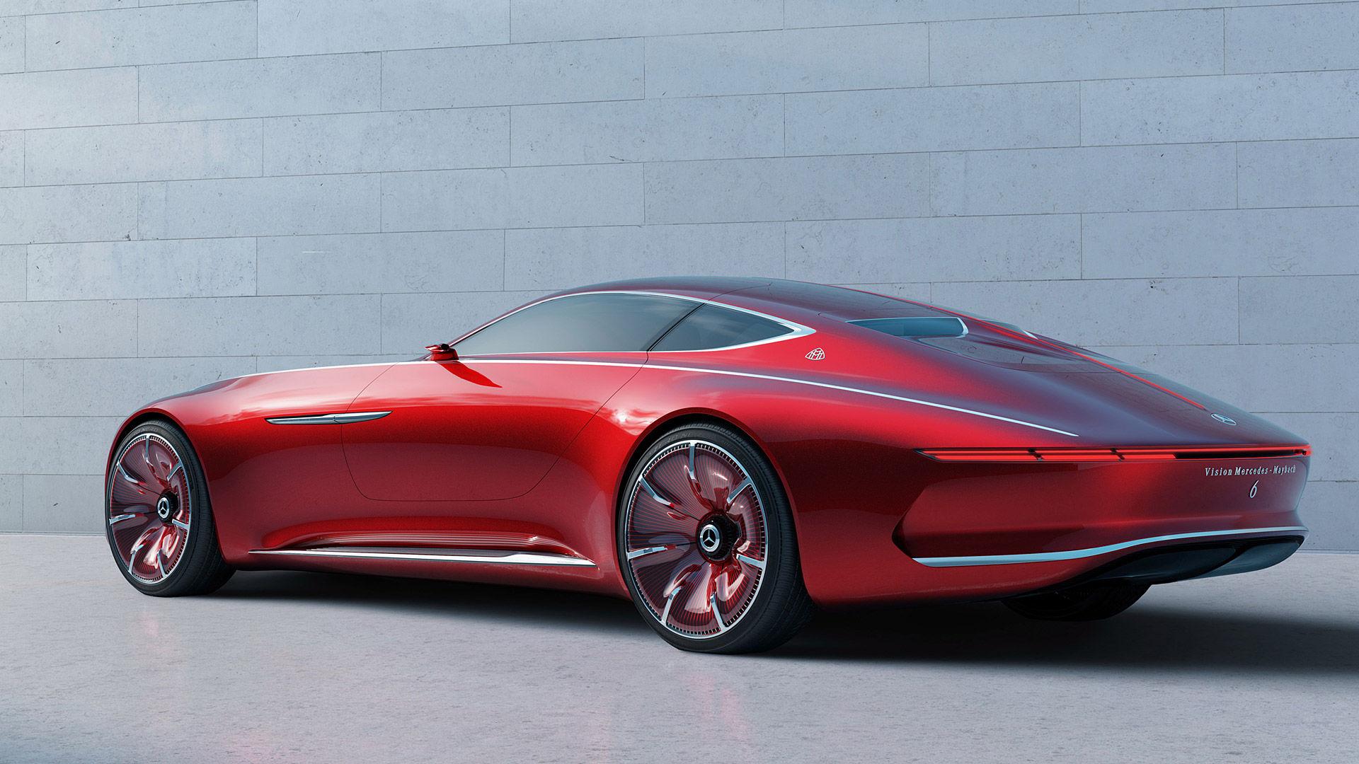 2016 Mercedes-Benz Vision Maybach 6 Concept