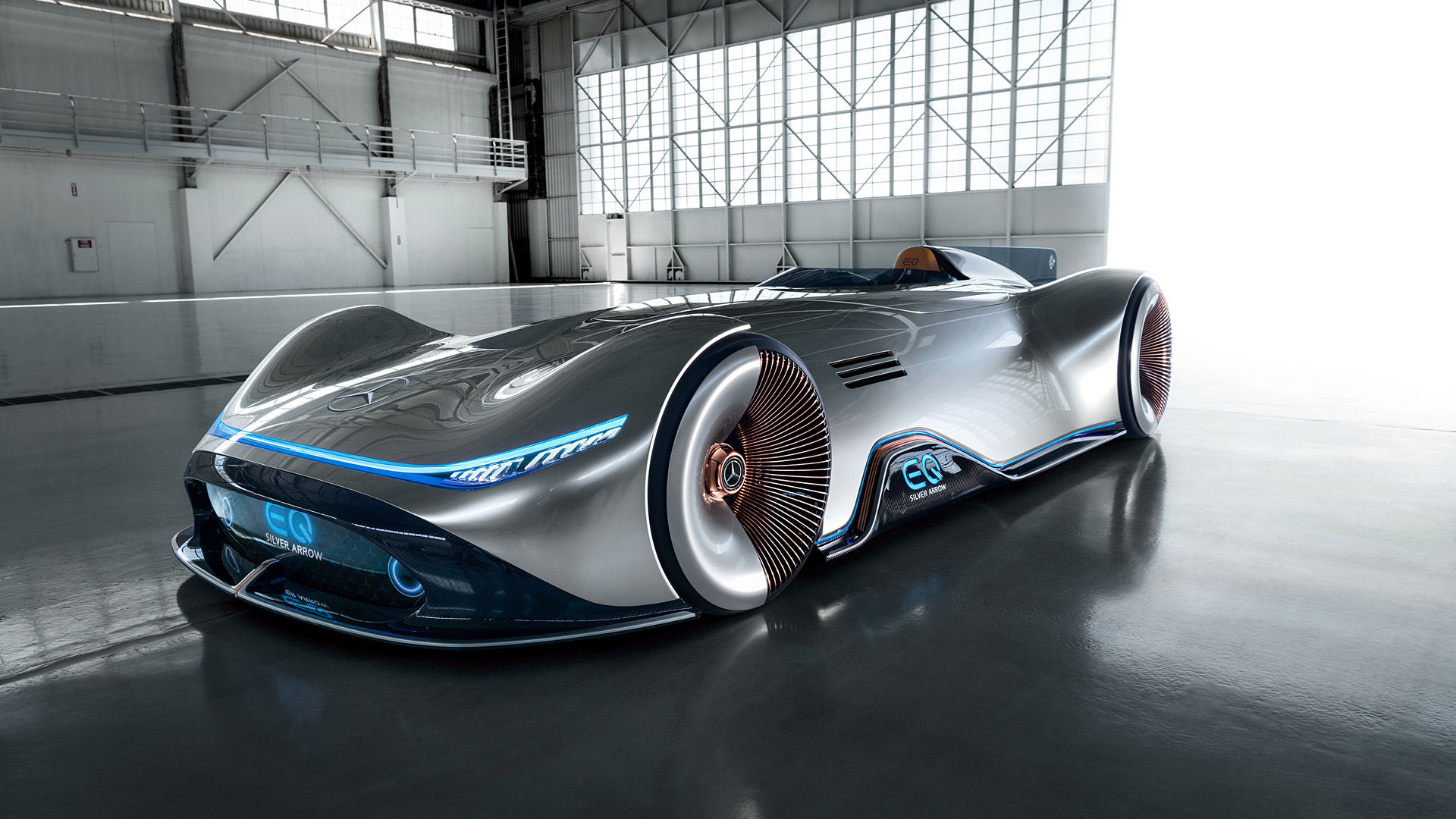 2018 Mercedes-Benz Vision EQ Silver Arrow Concept