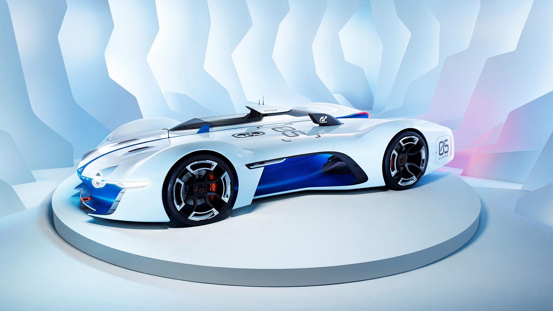 2015 Renault Alpine Vision Gran Turismo Concept