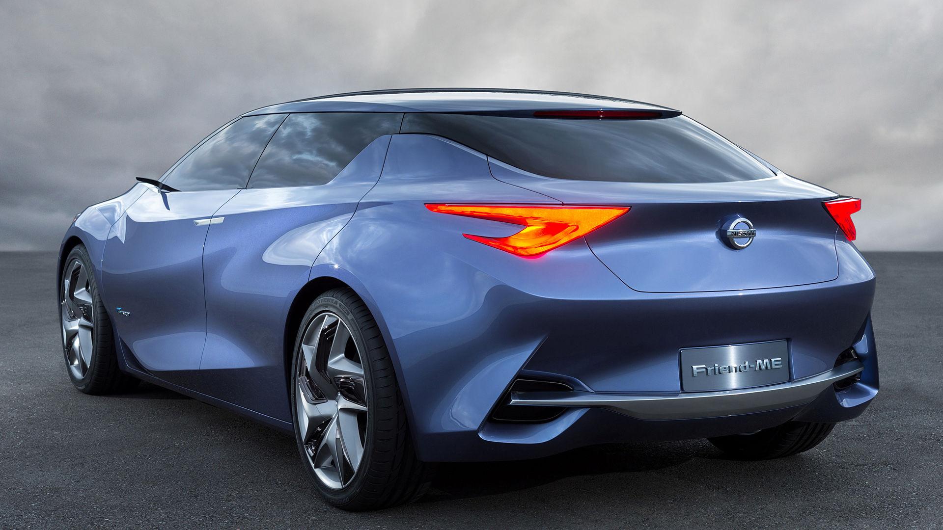 2013 Nissan Friend-ME Concept