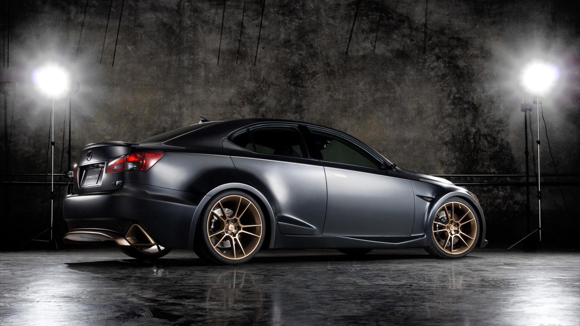 2009 Lexus IS-F Five Axis Project