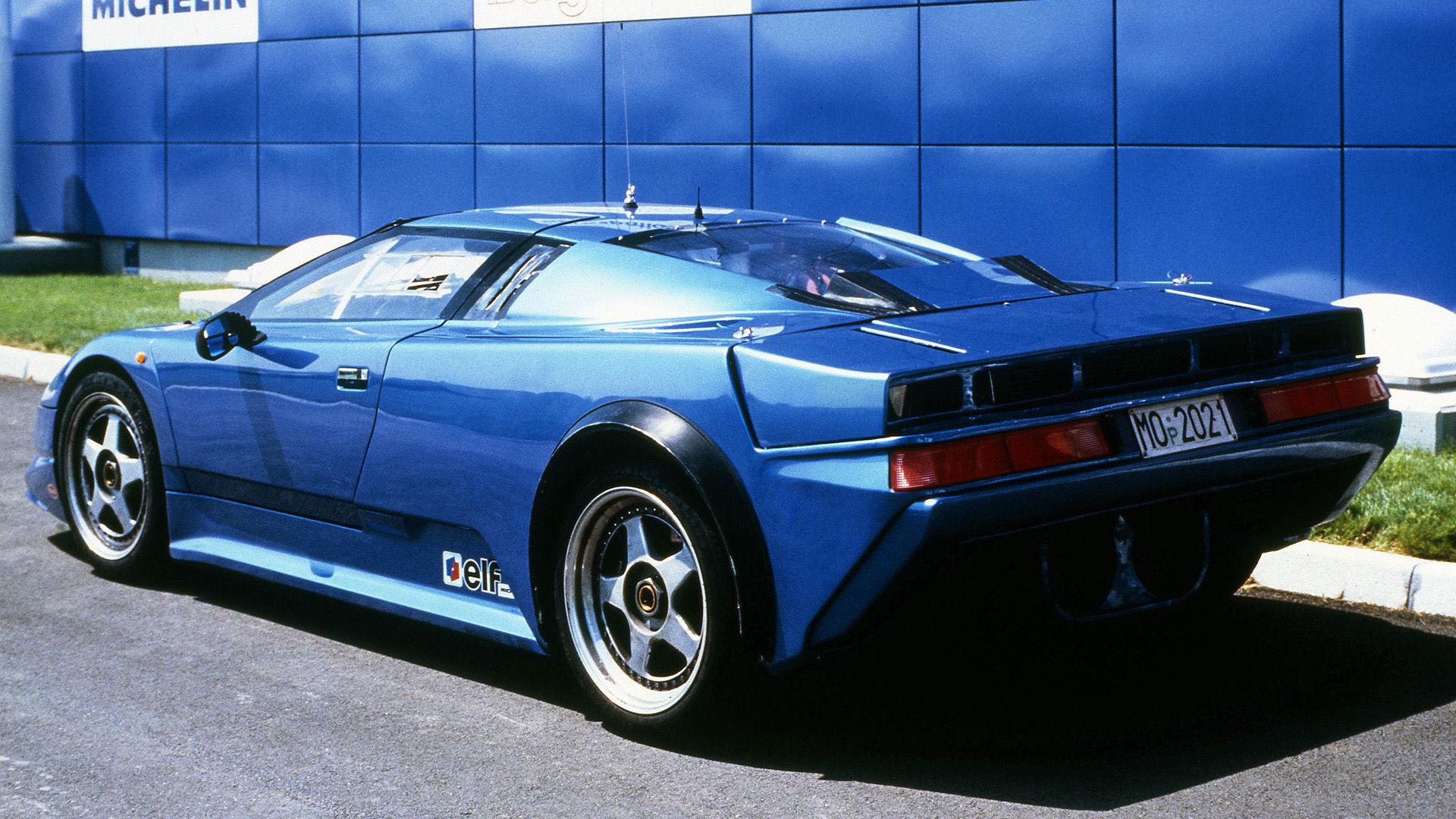 1990 Bugatti EB110 Prototype