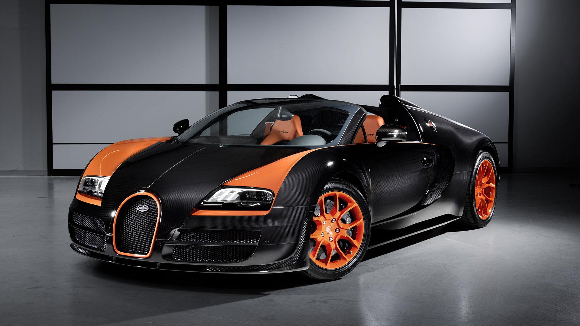 2013 Bugatti Veyron Vitesse World Speed Record
