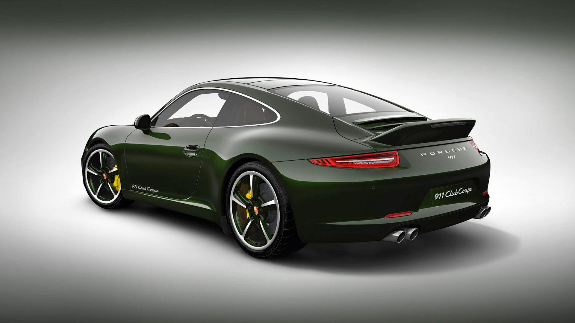 2012 Porsche 911 Club Coupe