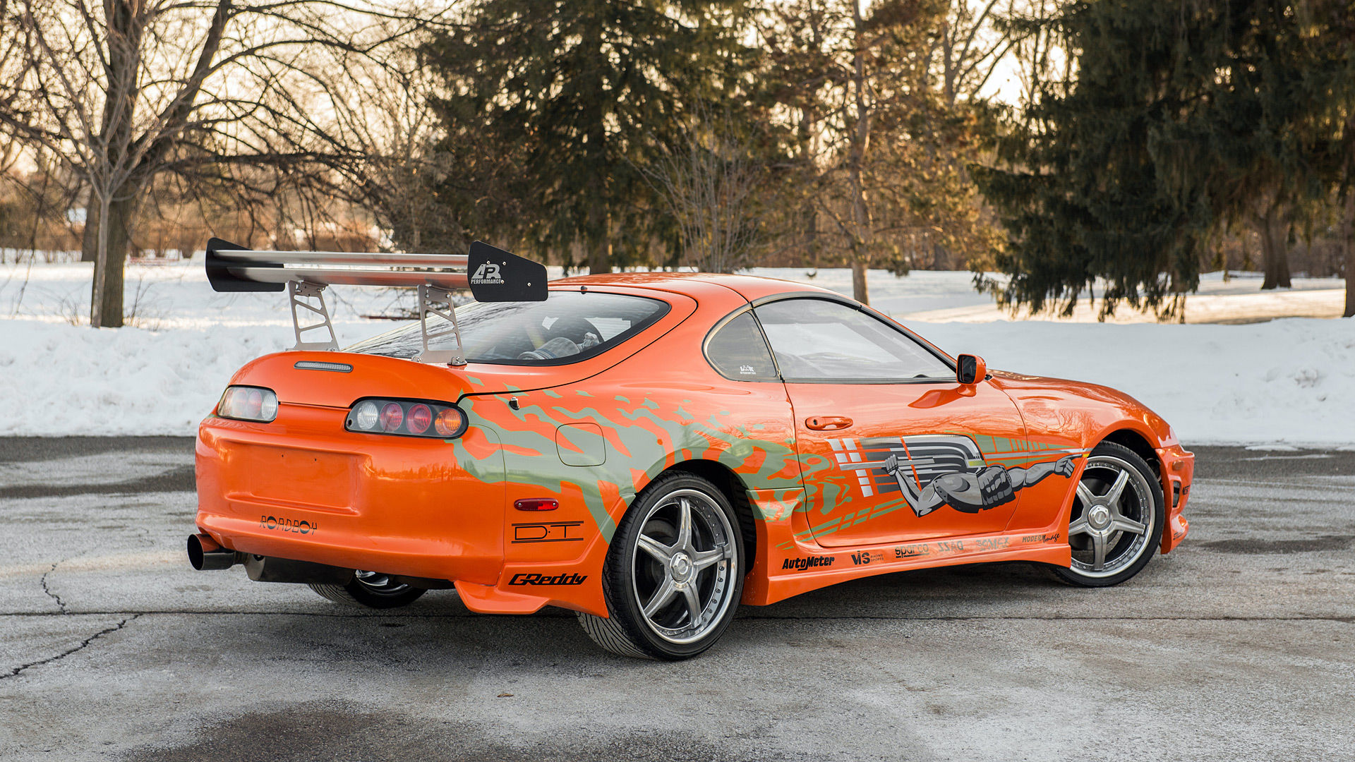 2001 Toyota Supra The Fast and the Furious