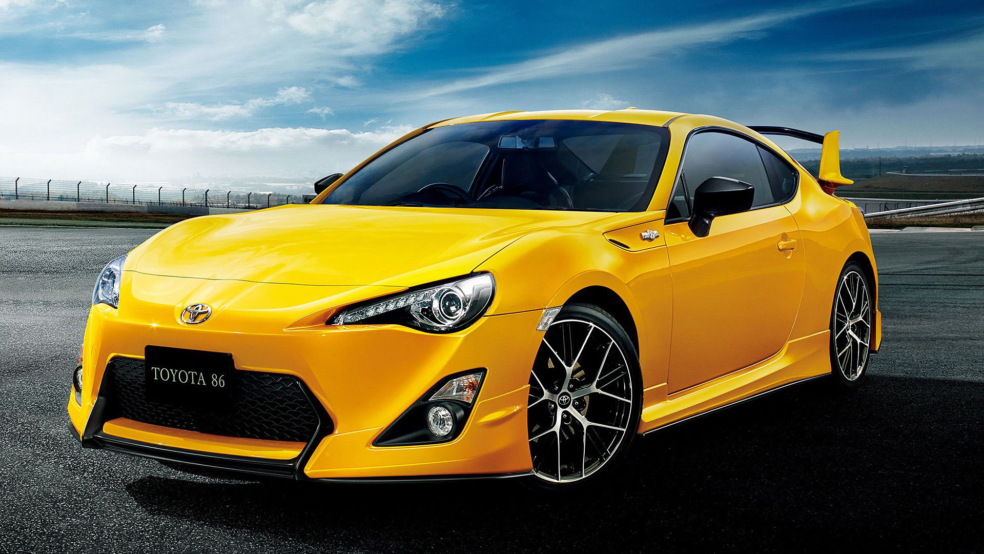 2015 Toyota GT 86 Yellow Limited