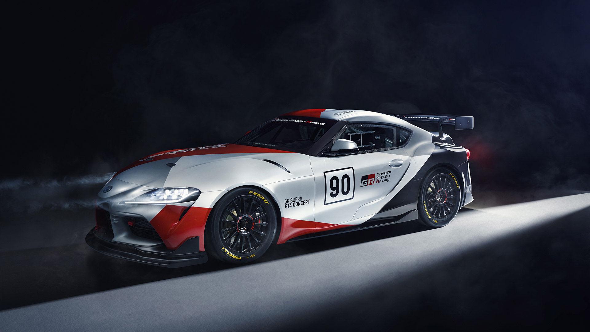 2019 Toyota Supra GT4 Concept