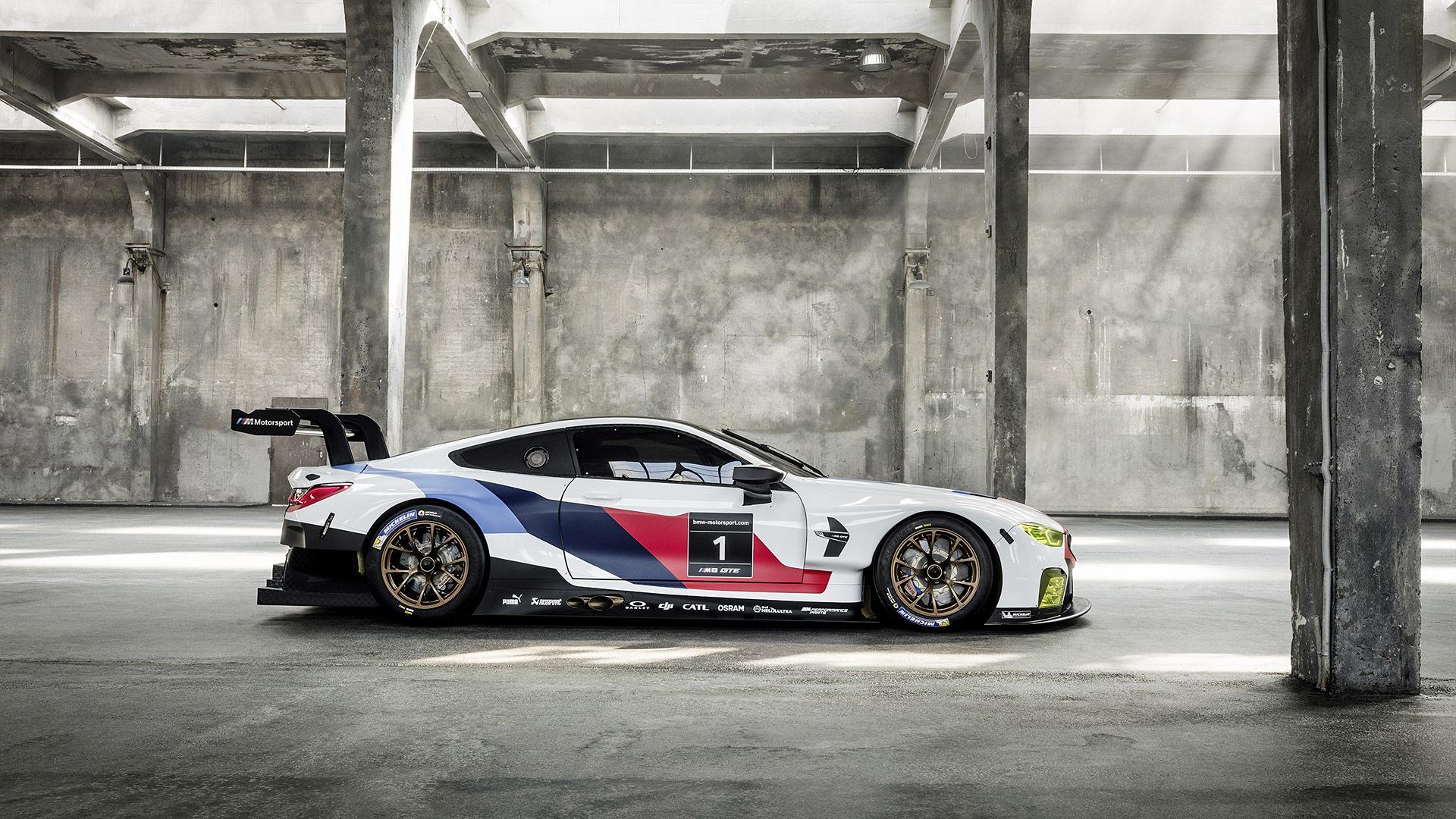 2018 BMW M8 GTE