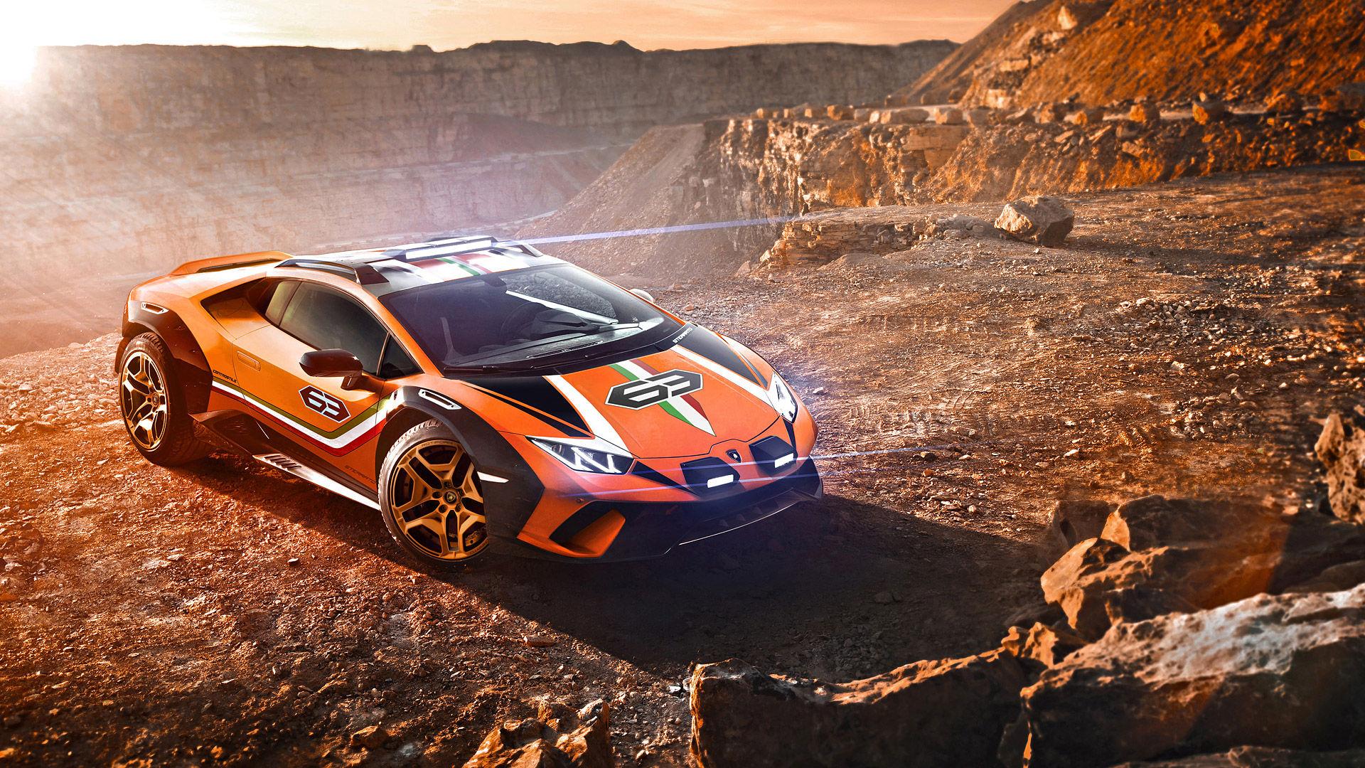 2019 Lamborghini Huracan Sterrato Concept