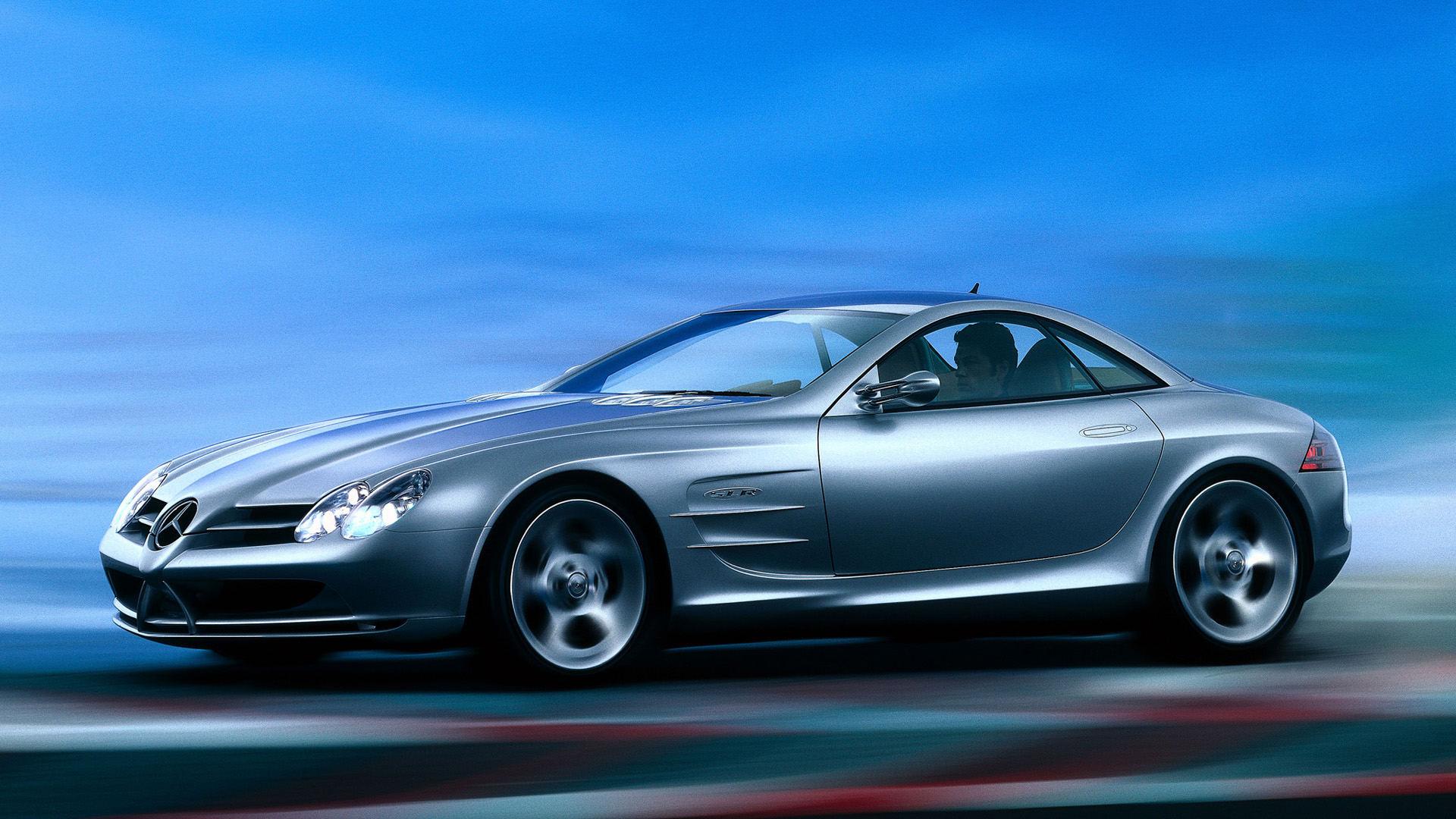 1999 Mercedes Vision SLR Concept