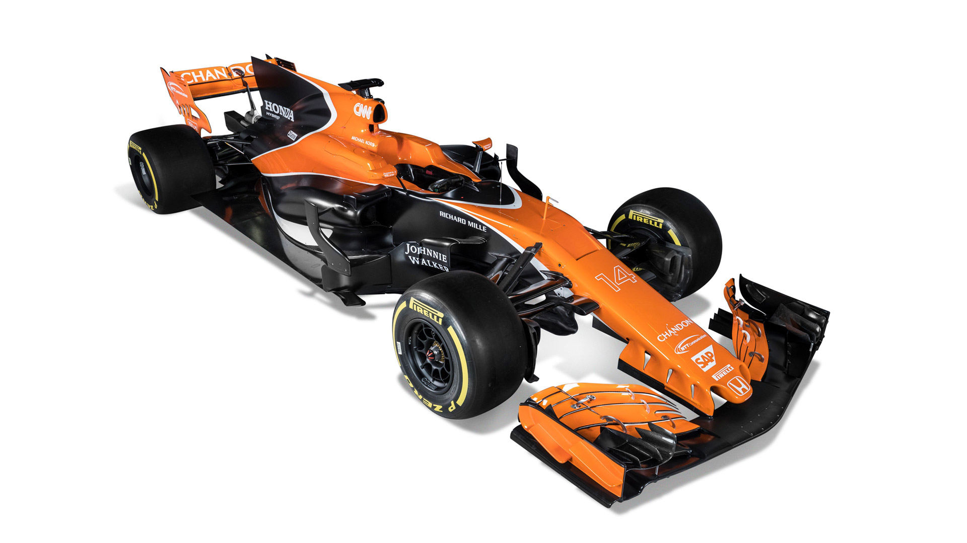 2017 McLaren MCL32
