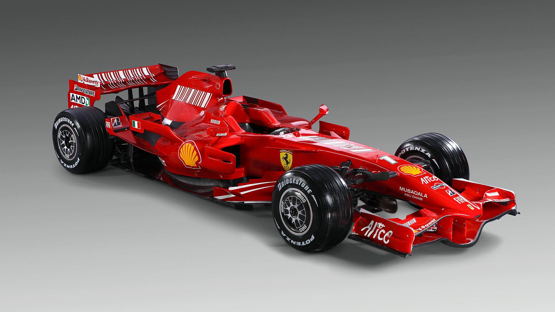 2008 Ferrari F2008