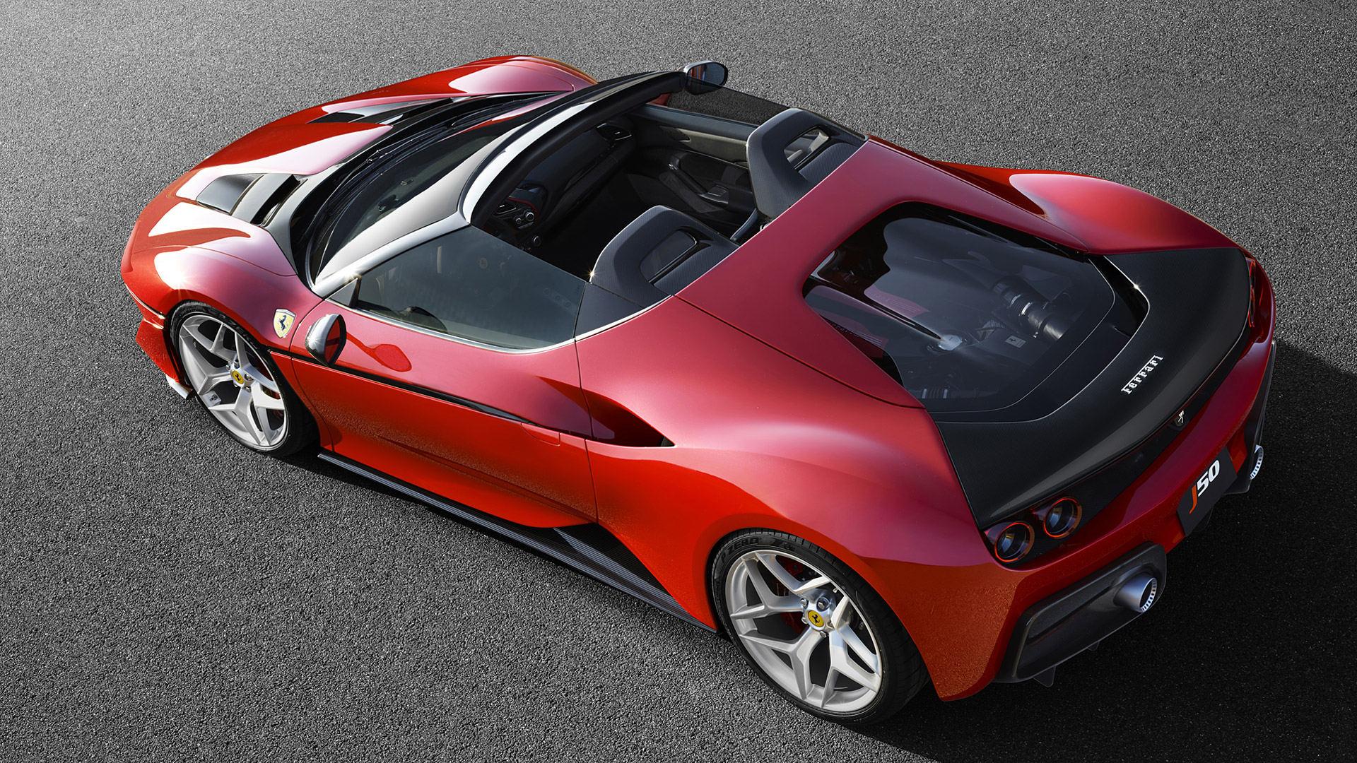 2016 Ferrari J50