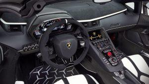 2020 Lamborghini Aventador SVJ Roadster Interior