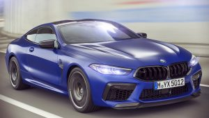 2020 BMW M8 Competition Coupe 1