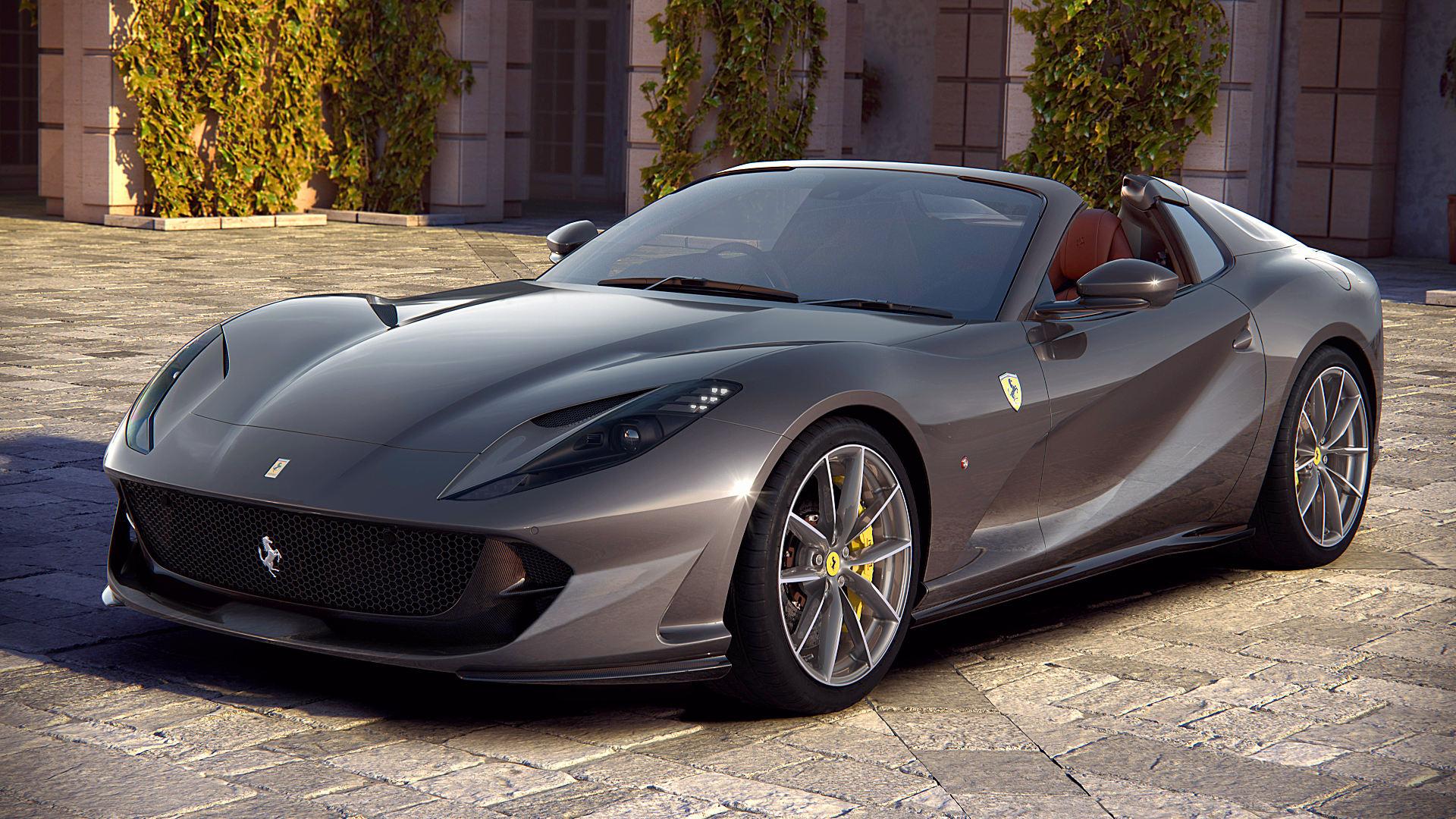 2020 Ferrari 812 Gts Specs Wallpaper