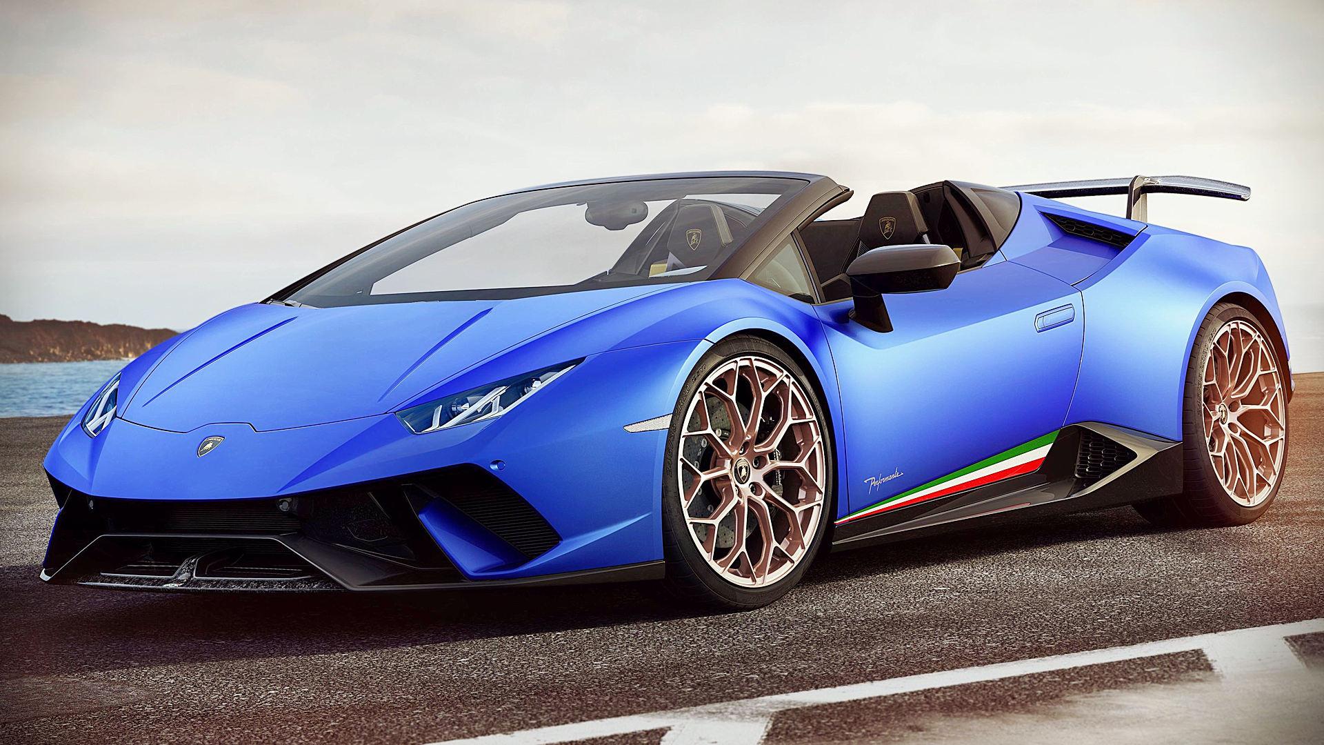 Lamborghini Huracan Performante Spyder 2019