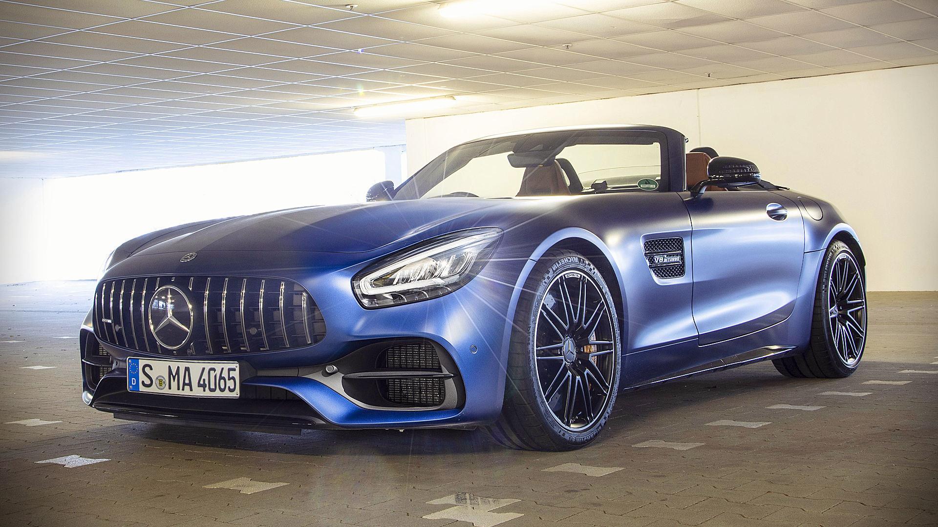 2020 Mercedes-AMG GT C Roadster
