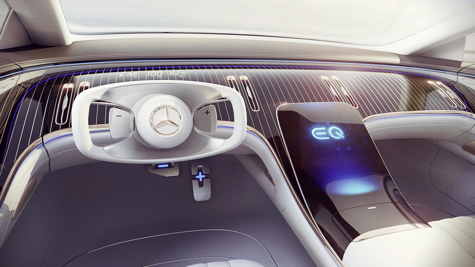 Mercedes Benz Vision EQS 2019