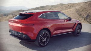 Aston Martin DBX SUV 2021 Wallpaper