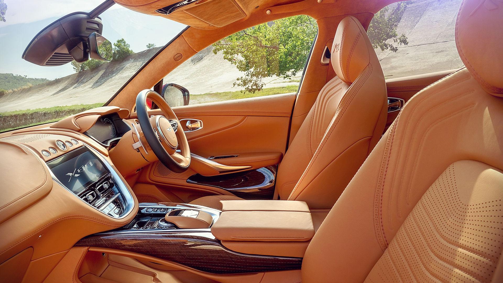 Aston Martin Dbx Suv 2021 Interior Wallpaper