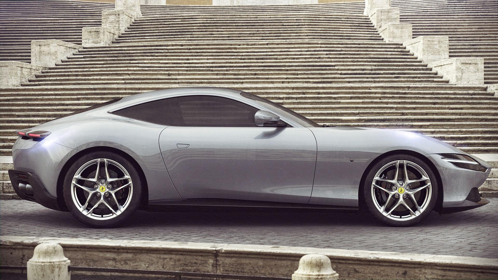 Ferrari Roma 2020 Wallpaper Hd
