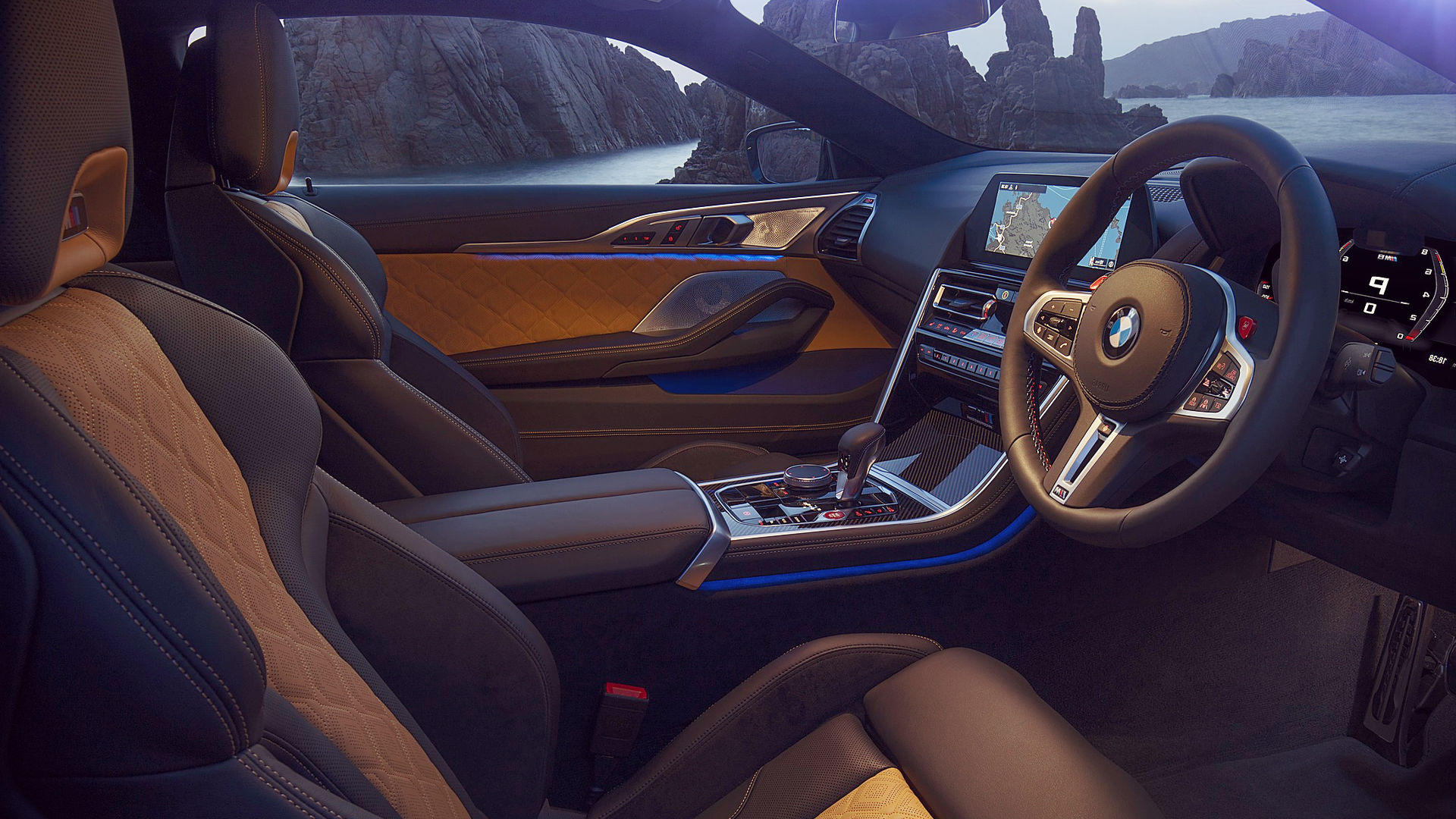 Bmw M8 Competition Coupe 2020 Interior