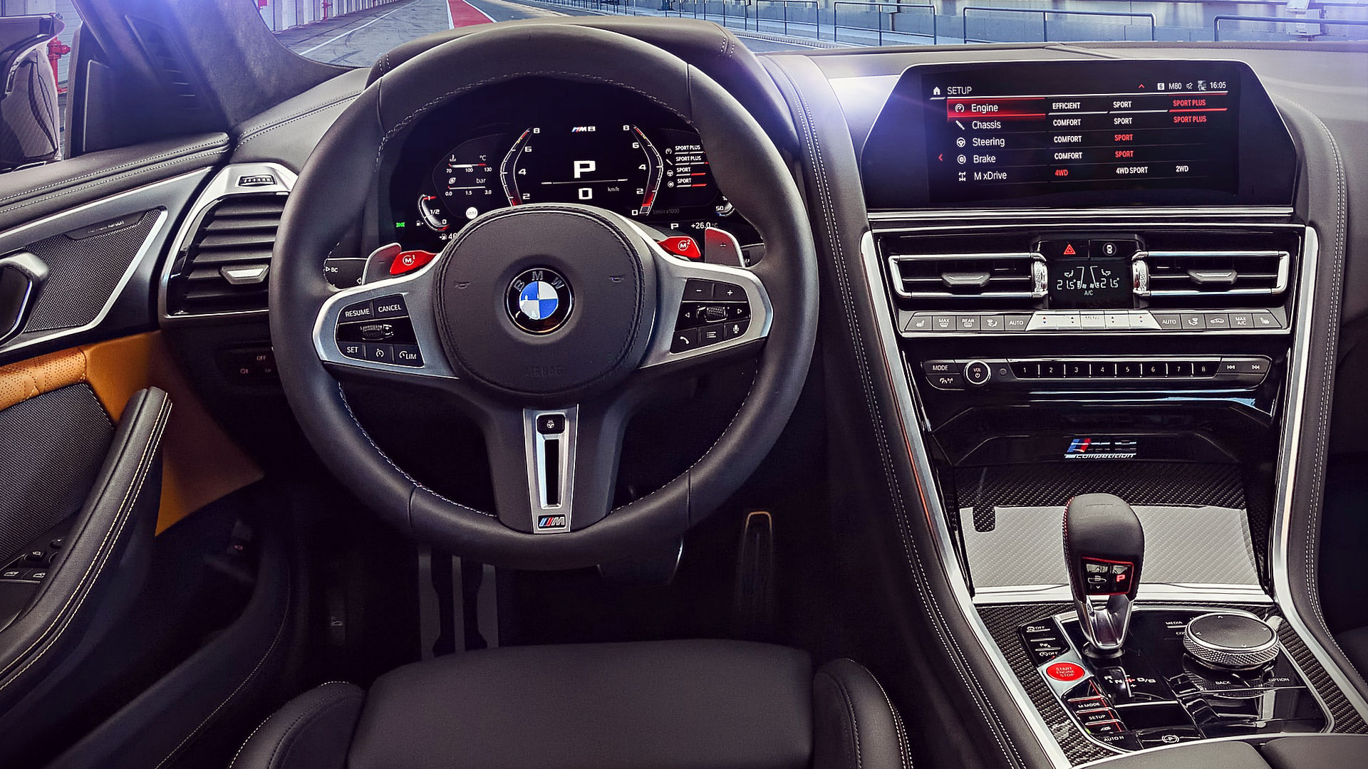 2020 BMW M8 Competition Coupe Interior