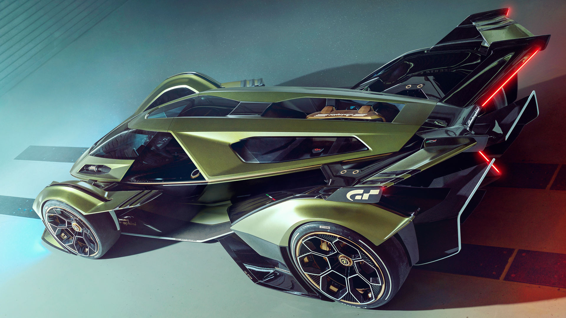 Lamborghini Lambo V12 Vision Gran Turismo Wallpaper