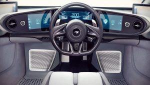 2020 McLaren Speedtail Interior Wallpaper