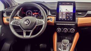 Renault Captur E-Tech Hybrid 2020 Interior