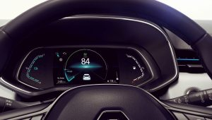 2020 Renault Clio Hybrid E-Tech Interior Wallpaper