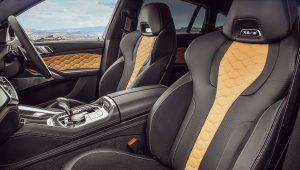 BMW X6 M Competition 2020 Interior