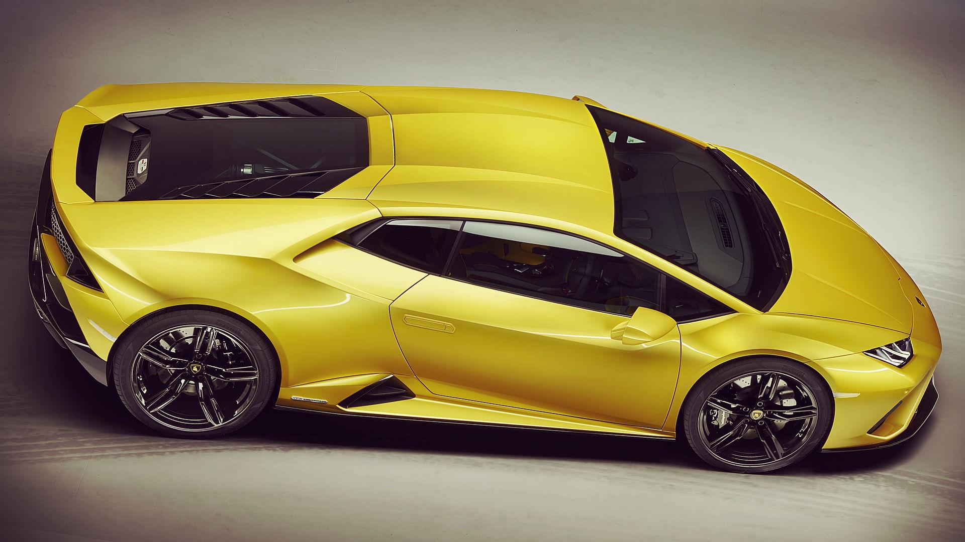 Lamborghini Huracan EVO RWD 2021 Hd Wallpaper